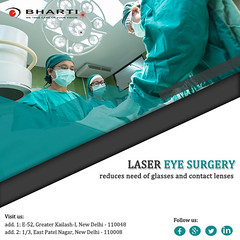 Using the latest & advanced machines of Laser Eye Surgery (bhartieye) Tags: bharti eye eyecare delhi services refractive retina asthetics care cataract lasik catract laser hospital foundation