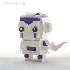 Frieza (dvdliu) Tags: frieza lego moc brickheadz blockhead dragon ball z