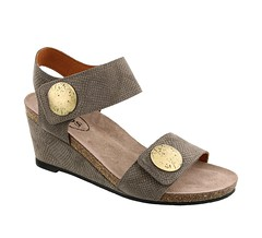 "Taos Carousel 2 sandal taupe embossed • <a style=""font-size:0.8em;"" href=""http://www.flickr.com/photos/65413117@N03/33318075311/"" target=""_blank"">View on Flickr</a>"