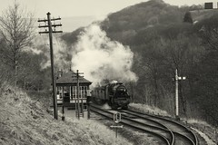 45212 (feroequineologist) Tags: black5 lms 45212 kwvr worthvalleyrailway worthvalley railway train steam