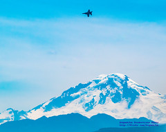 "Boeing F/A-18F ""Rhino"" Over Mount Baker (AvgeekJoe) Tags: abbotsford abbotsfordinternationalairshow boeingfa18f boeingfa18fsuperhornet boeingsuperhornet canada canadian d5300 dslr fa18fsuperhornet importedkeywordtags mountbaker mtbaker navalaviation nikon nikond5300 other rhino superhornet superbug usnavytacdemo usnavy usn vfa122 vfa122flyingeagles airplane aviation fa18f fighterjet plane volcano"