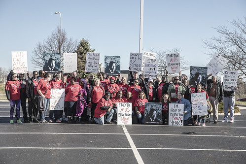 AIDS Taskforce of Greater Cleveland protests Ryan White Part B De-funding