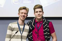 European Award Event day 1 (European Central Bank) Tags: 04 2017 ecb ecbmainbuilding ezb frankfurtammain issuanceofthenew€50banknote euro neweuro50 securityfeatures youngpeople generationeuro europeanawardevent