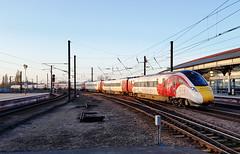 800101 York 23/03/2017 (Flash_3939) Tags: 800101 class800 iep azuma virgin virgintrains test testing 5x15 york yrk station ecml eastcoastmainline rail railway train uk march 2017