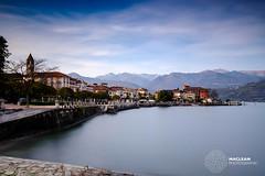 Lake Maggiore (MacLeanPhotographic) Tags: italy lake lakemaggiore water longexposure fujifilm xt2 lee10xndbigstopper lee09ndgrad