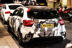 A45 (ak_russ) Tags: mercedes mercedesbenz a45 amg car cars auto autos hothatch hatchback camo london spotted spotter