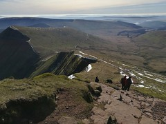 A view from Pen Y Fan in the Brecon Beacons, Wales. (Michael Yule - I Can See For Miles) Tags: penyfanbreconbeaconswalesukmountainsviewspringhuweihonor8mobilephone national trust wales united kingdom great britain unitedkingdom