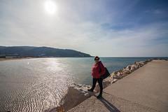 IMG_2045 (Antonio Todesco) Tags: mamma mom gargano pulia puglia calenella peschici mare spiaggia sea beach