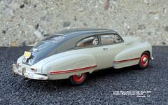 1942 Oldsmobile Ninety-Eight B44 Custom Eight Cruiser Coupe (JCarnutz) Tags: 143scale diecast whitemetal brooklin 1942 oldsmobile ninetyeight cruiser sedanette