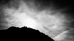 People on the hill - Howth, Ireland - Black and white street photography (Giuseppe Milo (www.pixael.com)) Tags: streetphotography sun howth silhouette nature ireland street people dublin blackandwhite clouds sky hill mountain countydublin ie onsale faceless