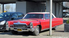 Cadillac Sedan de Ville 1968 (XBXG) Tags: dm3432 cadillac sedan de ville 1968 red rood rouge v8 lpg gpl purmerend nederland holland netherlands paysbas vintage old classic american car auto automobile voiture ancienne américaine us usa vehicle outdoor