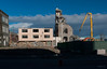 Strong Sunlight (Jocey K) Tags: newzealand christchurch sky building architecture clouds shadows demolition digger rubble rune nibbler formercivicbuildingdemolition millersdepartmentstoredemolition