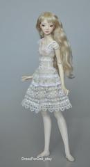 _DSC0034 (Jolly smiley) Tags: doll artist hand dress lace crochet made bjd resin enchanted marinabychkova