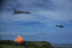Special Orders (Shastajak) Tags: explosion spitfire vulcan bombed rockla