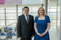 Maksym Burbak meets with Lisa Raitt