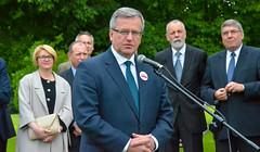 Prezydent RP Bronisław Komorowski w Poznaniu