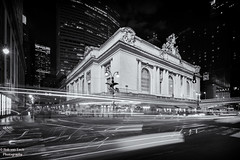Grand_Central_Terminal_building_night (robvanesch (www.ruimtesinbeeld.nl)) Tags: street new york city nyc newyorkcity travel urban usa ny newyork motion blur building tourism station yellow skyline night facade america skyscraper dark lights evening twilight exterior traffic manhattan cab famous transport central scenic structures railway grand landmark center scene terminal taxis retro rush transportation grandcentralstation metropolis grandcentral 42nd grandcentralterminal