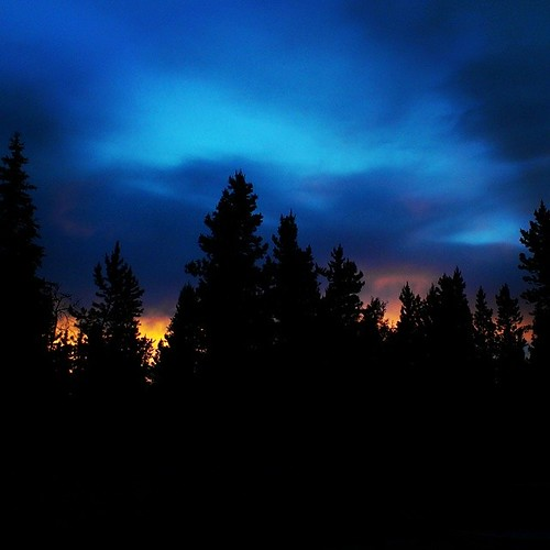 Minutes before tonight's  11:35pm sunset #summer #yxy #yukon