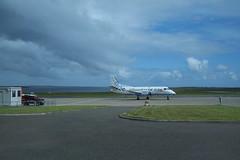 Island airports (skittledog) Tags: airport orkney aeroplane runway kirkwall flybe
