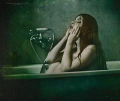 Why did I wash my breasts II (RapidHeartMovement) Tags: portrait self dark expressive powiatowska poeticalinspirations emotionalconcepts rapidheartmovement