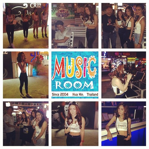 Singha Street Event @ Music Room Hua Hin