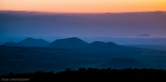 Purple Jeju Landscape (Steve Z Photo) Tags: travel sunset clouds nationalpark asia korea jeju hallasan eoseungsaengak