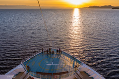 Watching the sunset from the bow of a cruise ship - Straight of Georgia, British Columbia (Phil Marion (177 million views - THANKS)) Tags: travel philmarion philippemarion explore phil marion canon5diii 5d3 canon toronto canada candid architecture street portrait landscape wildlife nature bird urban flowers macro insect longexposure ontario skyline cityscape home sky water outside beach dog old young indoors sunrise sunset dusk fun shadows hdr snow art model feet night shutter incredible focus happy notsony notnikon
