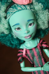 Miss Tiana (blackiechloe123) Tags: monster doll dolls ooak custom mh repaint ooakdoll customdoll honeyswamp monsterhigh monsterhighdolls monsterhighdoll monsterhighcustom monsterhighrepaint custommonsterhigh
