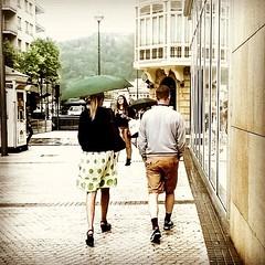 Rain (Ana Elorza) Tags: summer rain shopping square lluvia squareformat verano mayfair sanmartin donostiasansebastin iphoneography instagramapp uploaded:by=instagram
