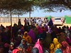 Humanitarian Coordinator meets with newly displaced in Mogadishu (United Nations in Somalia) Tags: food children women somalia displaced idps vaccinations mogadishu merca afgooye oooryoley