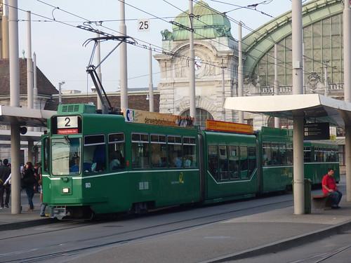 Basel SBB Tram Station 1