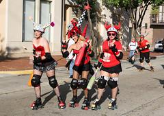 Running of the Bulls (MJfest) Tags: louisiana unitedstates neworleans rollerderby rollergirls bulls nola sanfermin runofthebulls nolabulls canon5dmarkiii 5dmarkiii