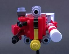 "Sobani Frigate ""Phobos"" (Rphilo004) Tags: ship lego space scifi spaceship fi homeworld sci spacecraft moc microspace microscale"
