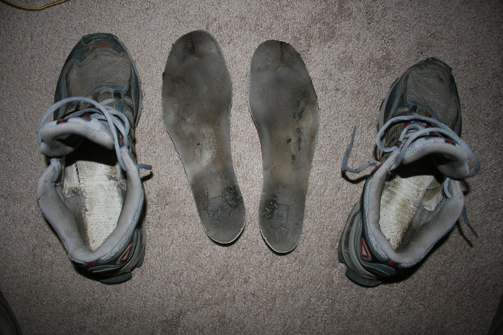 Dirty Stinky Used Women S Shoes
