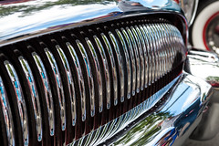 Greenwood Car Show '14-166 (ntisocl) Tags: seattle cars ford modela reflections buick greenwood chrome coupe seafair classiccars carshow vintagecars roadmaster 2014 grills greenwoodcarshow canonef70200f28lisusm greenwoodave canon1dmarkiii