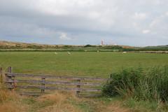 Landschap met vuurtoren (Jan van den Berg) Tags: vuurtoren texel 2014