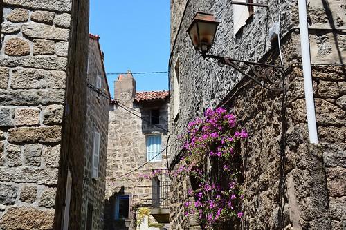 Old town Sartène (Corsica, France 2014)