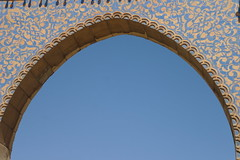 Blue Arch (Keith Mac Uidhir  (Thanks for 3.5m views)) Tags: morocco maroc marocco marruecos marokko moroccan marrocos meknes fas marocko marokk   mekns   maghribi  marako         mrk maruekos