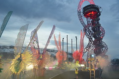 First shapes docked (PhilipStobbart) Tags: carnival london olympicpark queenelizabeth bridgewater greatbritish