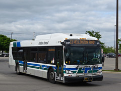London Transit Commission 317 (YT | transport photography) Tags: london transit commission new flyer xd40 xcelsior bus