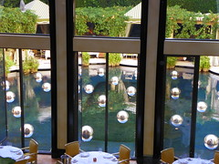 Reflection Pool (carolynthepilot) Tags: world trip travel vacation italy art window water pool beautiful dinner swimming landscape restaurant hotel mirror design cafe pond published paradise photographer image miami getaway balcony postcard balls explore exotic cabana bbc brunch dining windowview bellagio waterfeature poolside miamibeach luxury global nationalgeographic waterscape dinnerfortwo bellagiohotel holiiday goldenwings cabanna worldtraveler worldtraveller romanticdinner honeymoondestination waterdesign luxuryvacation bucketlist romantiic carolynbistline carolynthepilot bistline carolynsuebistline flickrhivemindnet flickrmindset flickmindset explore2014 cabanadining