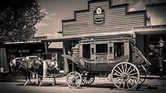 Tombstone Stage, Tombstone, AZ (Sugardxn) Tags: arizona horse southwest photoshop coach cowboy stage tombstone stagecoach oldwest sugardxn garypentin