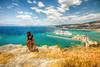 Kuşadası, Turkey (Nejdet Duzen) Tags: trip travel cruise sea holiday turkey women harbour türkiye deniz kuşadası liman tatil turkei seyahat aydın kadın kruvazör