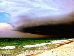Squalls Out On The Gulf Stream... (white_shadow_photog) Tags: sky storm beach gulfofmexico weather clouds florida thunderstorm destin destinflorida hendersonstateparkwhitesand