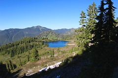Lunch Lake, Olympic National Park (daveynin) Tags: mountain lake nps trail olympic tarn deaftalent deafoutsidetalent deafoutdoortalent