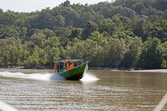 Böötchen in Borneo (Christian Jena) Tags: park boot boat national sarawak malaysia borneo kuching bako