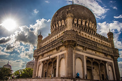 Qutb Shahi Tombs (bharath.gande) Tags: sky india architecture king ngc historic infrastructure hyderabad tombs tippusultan