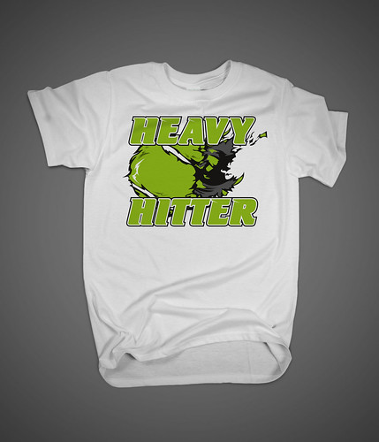 T-Shirt heavy hitter