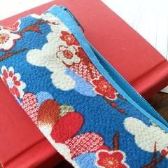 Bright chirimen fabric