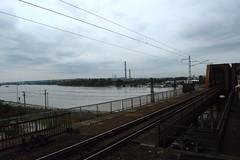 2014aug_Soroksr_0364 (emzepe) Tags: bridge river hungary crossing budapest railway pont duna brcke ungarn danube hd augusztus fleuve donau 2014 dunav hongrie dunaj nyr flus foly vasti